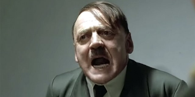 A BP refinery worker in Australia who was fired for using a popular Hitler meme from the movie