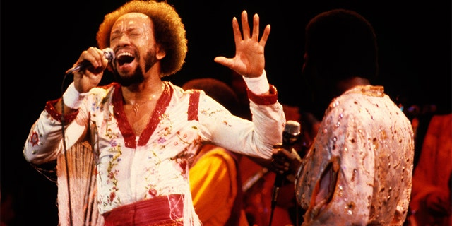Maurice White, frontman of Earth, Wind & Fire. (Photo by Ed Perlstein/Redferns/Getty Images)