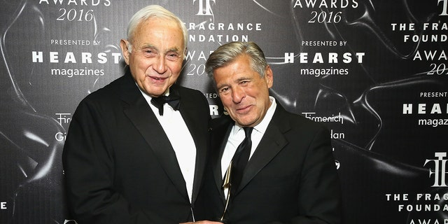 Les Wexner, left, and Ed Razek, right, were named in a recent expose from the New York Times