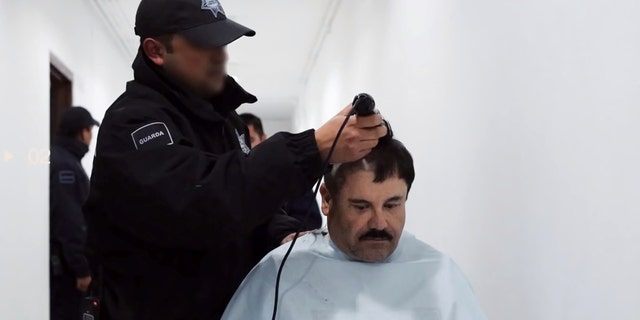 "A man believed to be Mexican drug lord Joaquin ""El Chapo"" Guzman, is pictured in what is believed to be the Altiplano prison in 2016, in this still image taken from a video supplied by news site Latinus on February 18, 2020. LATINUS/via REUTERS"