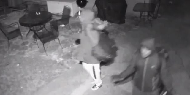 """<br data-cke-eol=""""1""""> A soldier in Iraq saw two burglary suspects at his home in Illinois on his cellphone's doorbell camera app and called police."""