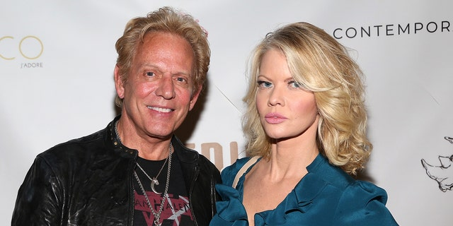 Don Felder and Diane McInerney attend ACCF Impact Benefit and Auction at Chase Contemporary on September 10.