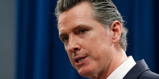 In this Jan. 10, 2020 file photo California Gov. Gavin Newsom responds to a reporters question during a news conference in Sacramento, Calif. (AP Photo/Rich Pedroncelli, File)