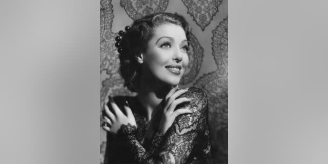 Actress Loretta Young in a scene from the 1940 movie 'He Stayed for Breakfast.'