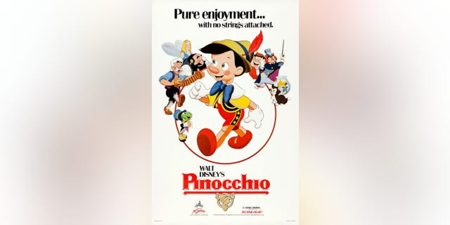 """""""Pinocchio"""" was released in February of 1940. (Photo by LMPC via Getty Images)"""
