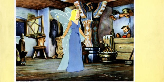 The Blue Fairy. (Photo by LMPC via Getty Images)