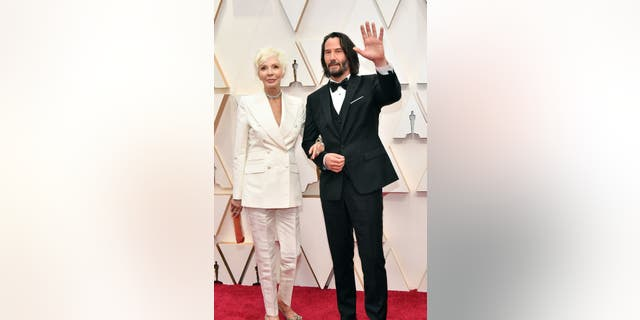 Westlake Legal Group GettyImages-1205140895 Oscars 2020: Keanu Reeves brings his mom, designer Patricia Taylor as his date Julius Young fox-news/entertainment/movies fox-news/entertainment/events/oscars fox-news/entertainment/events/couples fox-news/entertainment/celebrity-news fox-news/entertainment fox news fnc/entertainment fnc edd56802-f2fd-5f34-a5a3-59a699e07ba1 article