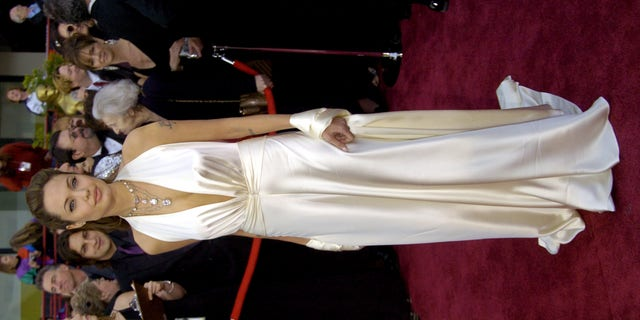 Angelina Jolie at the 76th Annual Academy Awards at the Kodak Theatre in Hollywood, Calif.
