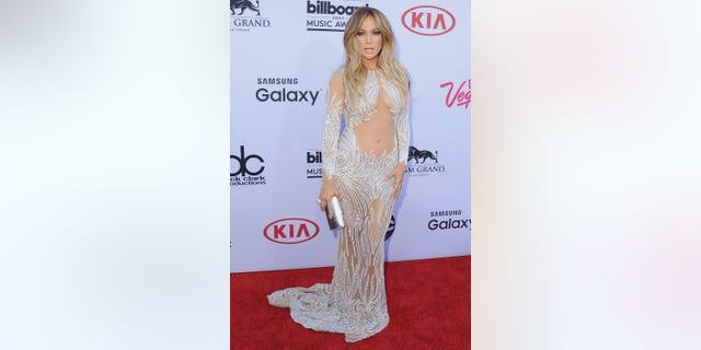 Jennifer Lopez at the 2015 Billboard Music Awards. (Photo by Jon Kopaloff/FilmMagic via Getty)