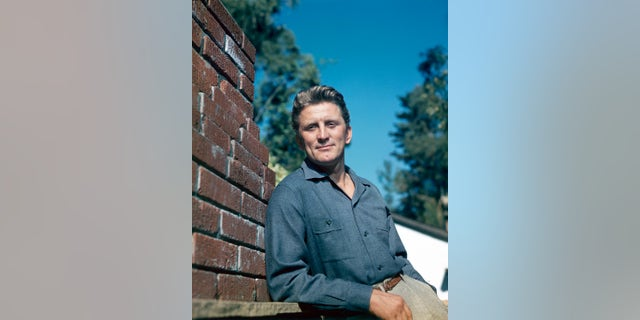 Kirk Douglas, seen here in the 1950s, has died.