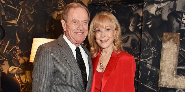 Barbara Eden and her husband Jon Eicholtz.
