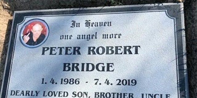 Peter Bridge, 33, died on April 4 last year after succumbing to a life-long battle with cystic fibrosis.