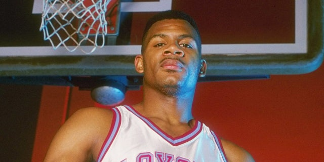 Hank Gathers won two MVPs in the West Coast Conference tournament. (Tim de Frisco /Allsport)