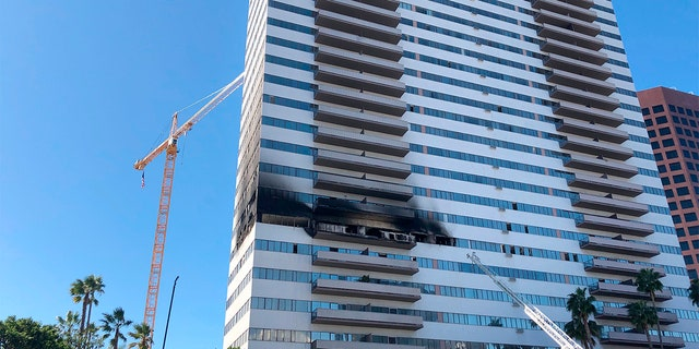 Westlake Legal Group Highrise-Fire-AP-2 French foreign exchange student dies from injuries after Los Angeles high-rise fire Robert Gearty fox-news/us/us-regions/west/california fox-news/us/disasters/fires fox news fnc/us fnc article 02306089-cfa0-543d-ac00-f97ed4f1c1d6