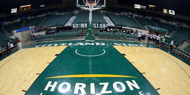 Wright State won the Horizon League in 2019. (Photo by Frank Jansky/Icon Sportswire via Getty Images)