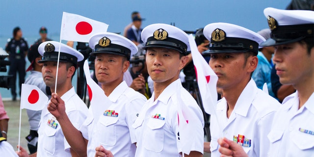 Japan's armed forces have to contend with a volatile neighbor in North Korea.
