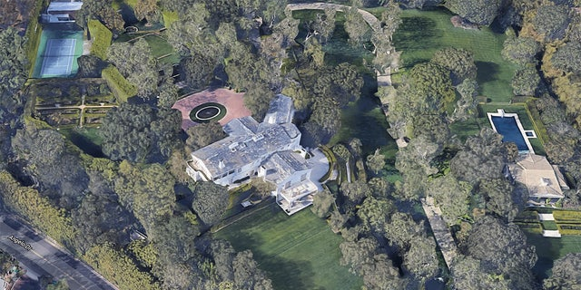 Warner Estate in Los Angeles. (Credit: Google Maps)
