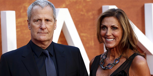 Jeff Daniels and his wife, Kathleen Treado, met in high school and have remained an item ever since.