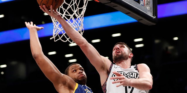 Brooklyn Nets forward Joe Harris is the reigning 3-point champion. (AP Photo/Kathy Willens)