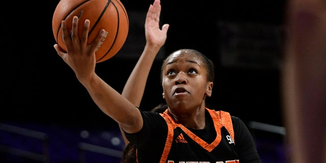 Keke Calloway helped Mercer to a second straight SoCon title in 2019. (Photo by David Allio/Icon Sportswire via Getty Images)