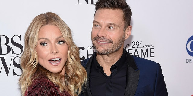 Kelly Ripa and Ryan Seacrest.