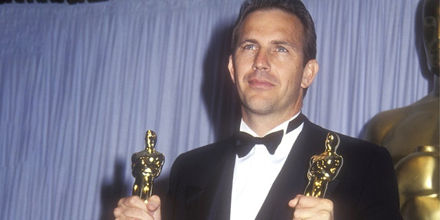 Kevin Costner, winner of Best Picture and Best Director for 'Dances with Wolves.' (Photo by Barry King/WireImage)