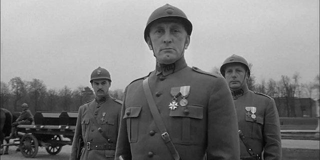 Kirk Douglas in 'Paths of Glory' (1957).