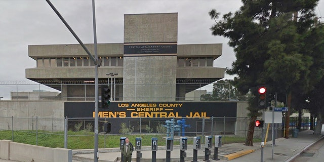 Los Angeles County Men's Central Jail in Downtown Los Angeles. California voters will decide the fate of a bail reform referendum in November.