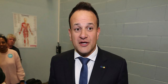 Fine Gael leader Leo Varadkar, the current Taoiseach, formally resigned as prime minister after the votes, but will stay on as caretaker leader until a successor is chosen. (Liam McBurney/PA via AP)