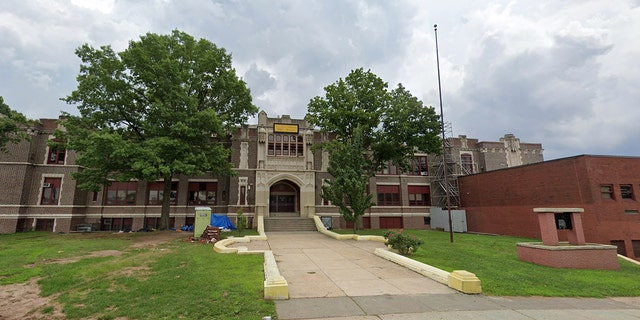 Malcolm X. Shabazz High School on Johnson Avenue in Newark. (GOOGLE MAPS)