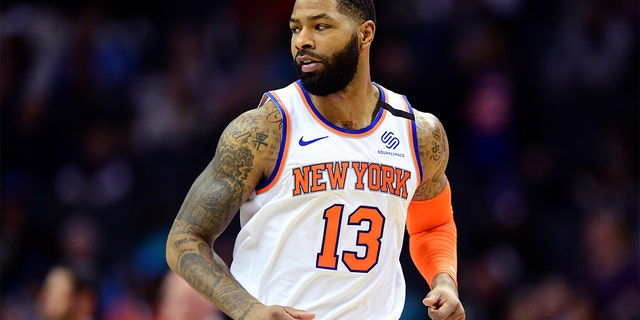 Marcus Morris. (Jacob Kupferman/Getty Images)