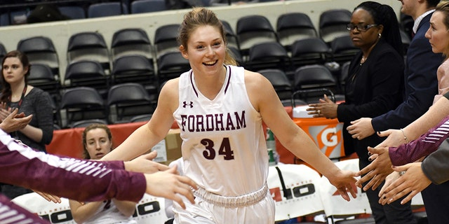 Mary Goulding led Fordham to an A-10 title in 2019. (Photo by Mitchell Layton/Getty Images)