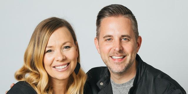 Matt Hammitt and his wife