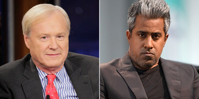 MSNBC's Chris Matthews was criticized by his network colleague, political analyst Anand Giridharadas.