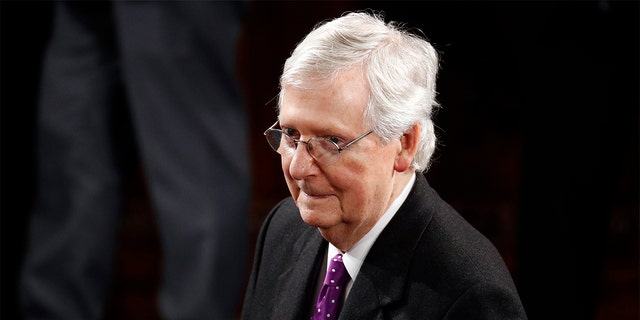 Senate Majority Leader Mitch McConnell, R-Ky., has announced his support for Attorney General Bill Barr. (AP Photo/Patrick Semansky)