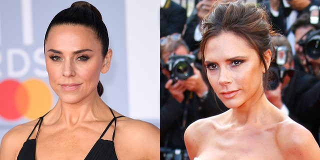 Mel C revealed that she and Victoria Beckham got into a 'scuffle' early on in the Spice Girls' career.