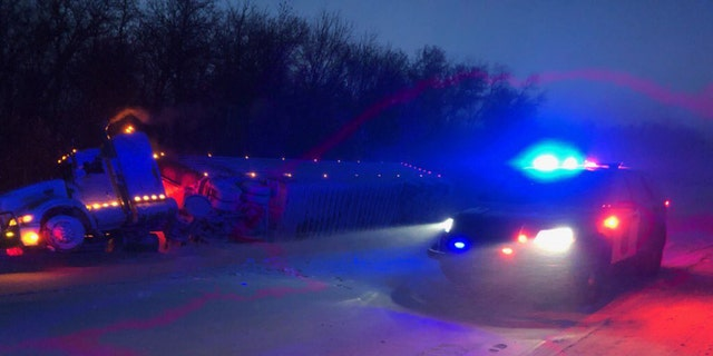 Multiple crashes were reported in northwest Minnesota as blizzard conditions slammed the region.