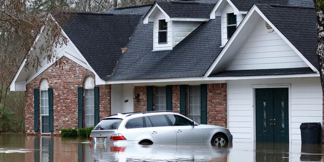 Authorities believe the flooding will rank as third highest, behind the historic floods of 1979 and 1983.