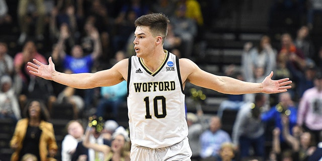 Wofford's Nathan Hoover helped the Terriers to a first-round tournament berth. (Photo by Mitchell Layton/Getty Images)