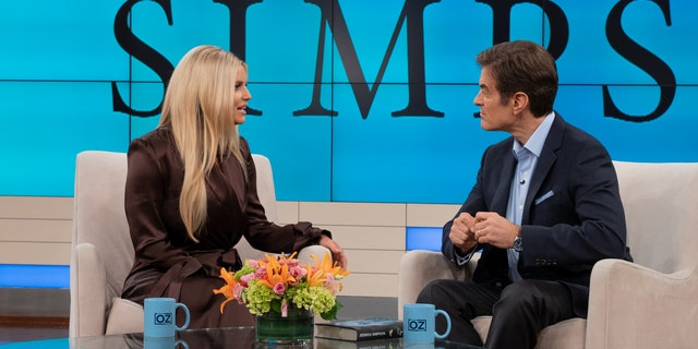 Jessica Simpson appears on 'The Dr. Oz Show' and discusses her memoir, 'Open Book.'