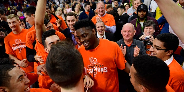 Princeton won the first Ivy League tournament title in 2017. (Photo by Corey Perrine/Getty Images)