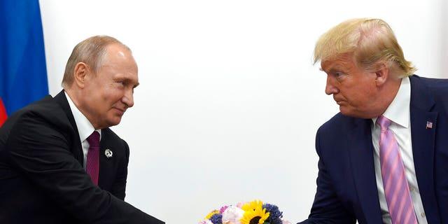 Westlake Legal Group PutinTrump022120 Rep. McCaul admits Trump 'did deserve, probably' to know about Russian bounty intelligence Julia Musto fox-news/world/world-regions/russia fox-news/world/terrorism/isis fox-news/world/terrorism fox-news/world/conflicts/afghanistan fox-news/shows/americas-newsroom fox-news/politics/house-of-representatives/republicans fox-news/politics/foreign-policy fox-news/politics/executive/white-house fox-news/person/donald-trump fox-news/media/fox-news-flash fox news fnc/media fnc article 197e0cf3-1453-5e44-881d-b2113282dbc0