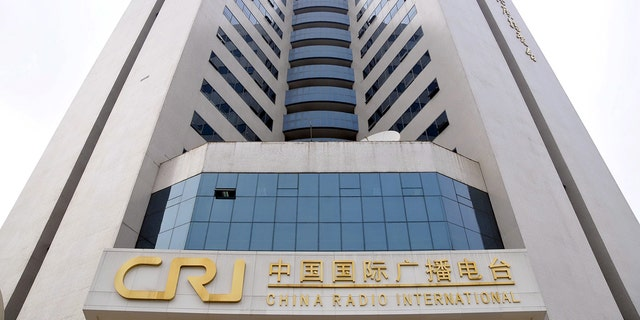 The headquarters of China Radio International (CRI) in Beijing.