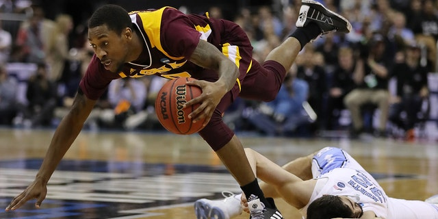 Rickey McGill and Iona got back to the NCAA Tournament for the fourth straight time. (Photo by Elsa/Getty Images)