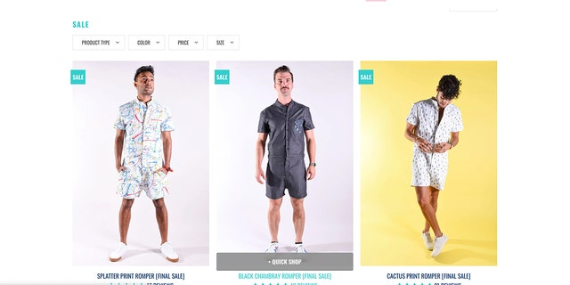 Westlake Legal Group Romphim-Website RompHim menswear company goes out of business after going viral Gerren Keith Gaynor fox-news/style-and-beauty fox news fnc/lifestyle fnc article 0ccbd669-d513-5914-be3c-8d79aec51d73