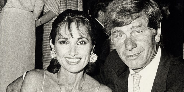 Susan Lucci and Helmut Huber.