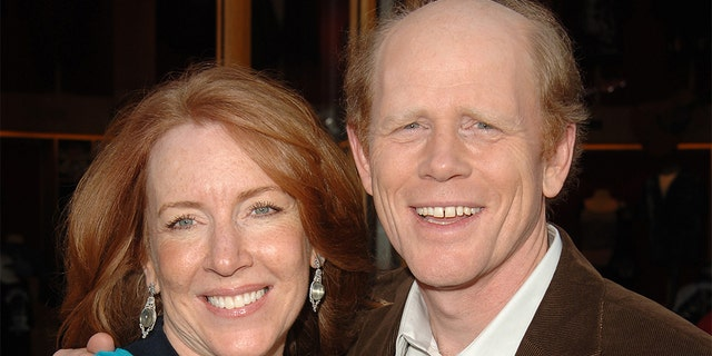 Ron Howard and wife Cheryl tied the knot in 1975.