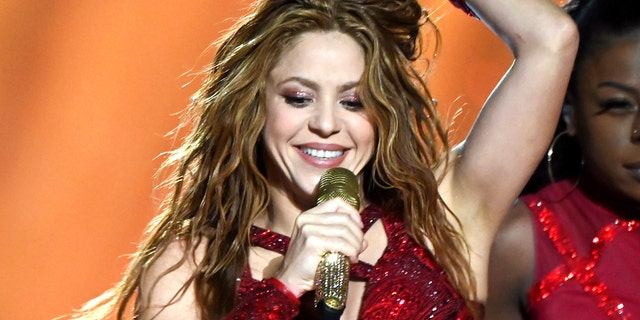 Shakira performs onstage during the Pepsi Super Bowl LIV Halftime Show at Hard Rock Stadium on Feb. 2, 2020, in Miami, Fla.