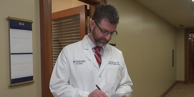 Dr. Raymond Lynch, has completed research on liver transplants across the country.