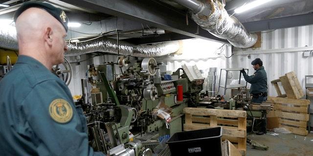 Police find secret cigarette factory 4 meters underground